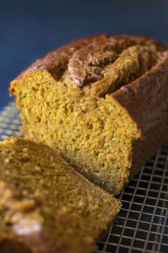 Moist, tender pumpkin zucchini bread filled with fall spices and baked to perfection. This quick bread is one you'll want to make over & over again! Pumpkin Zucchini Bread, Zuchinni Bread, Zucchini Bread Recipes, Pumpkin Puree, Pumpkin Butter, Healthy Pumpkin, Pumpkin Recipes, Fall Recipes, Dessert Recipes