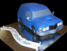 3D Panel Van Birthday Cake - by Nada's Cakes Canberra