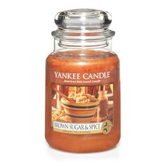 Classic Candle Fragrances   Brown Sugar and Spice l Yankee Candle