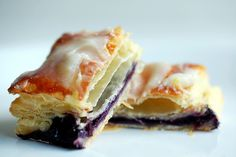 blueberry lemon cheesecake breakfast pastries, looks amazing!