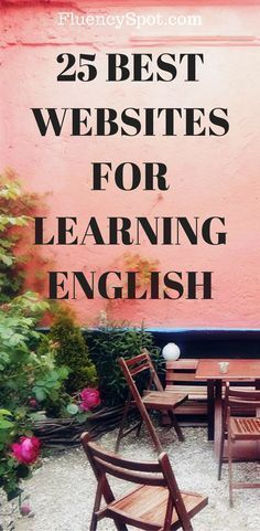 WEBSITES FOR LEARNING ENGLISH We all know how important English is nowadays, it's the international language and everyone needs to know it.We all know how important English is nowadays, it's the international language and everyone needs to know it. Improve English Speaking, Learning English For Kids, Learn English Grammar, Learn English Words, English Language Learners, Learning Spanish, Teaching English, English Vocabulary, How To Improve English