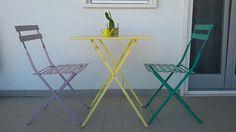 Set tavolo sedie balcone