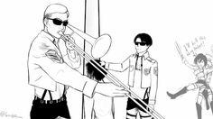 gif funny anime manga levi i cant snk shingeki no kyojin Mikasa ...