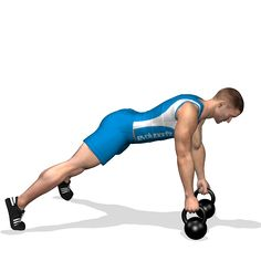 RENEGADE KETTLEBELL INVOLVED MUSCLES DURING THE TRAINING LATS