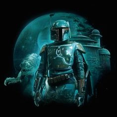 Boba Fett by Nick Runge - See more Star Wars art by the Poster Posse HERE