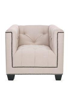 Baxter Club Chair by Safavieh at Gilt