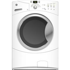 GE�3.5 cu ft Front-Load Washer (White) ENERGY STAR