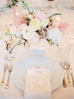 Blush Wedding Inspiration | DivArt Flowers