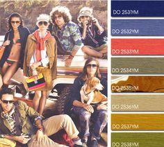 Spring Summer 2014, contemporary men's color trend report, Sea Star color board