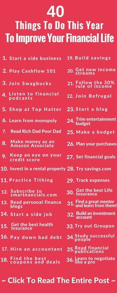 Amazing Ways To Improve Your Finances This Year - SmartNancials - Finance tips, saving money, budgeting planner