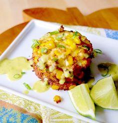 50 Plates of Tofu: Iowa - Corn Cakes; Tofu Recipe | House Foods