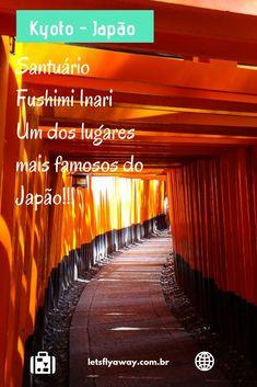 O que faze em Kyoto. Fushimi Inari um dos lugares mais visitados do Japão. Santuário. Fotografia de templo em Kyoto no Japão. #kyoto #japao #oquefazer #fushimiinari #santuario #templo #fushimi #fotografia #dicasdeviagem #viagem #turismo #viajar #arquitetura Nagasaki, Hiroshima, Ubud, Okinawa, Laos, Vietnam, Monte Fuji, Asia, Travel Tips