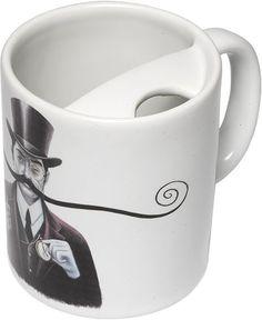 Mustache Guard Mug by Bucardo
