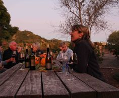 Sunsets at Vincent Arroyo Winery with the JE Crew and Vince, Jon Edwards mentor.