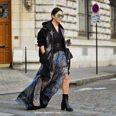 all kinds of cool. #TinaLeung in Paris.