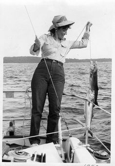 A classic shot of ava gardner the original woman in for Surf fishing waders