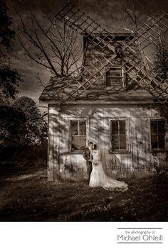 Michael ONeill Wedding Portrait Fine Art Photographer Long Island New York - Windmill Wedding Photo North Fork Long Island
