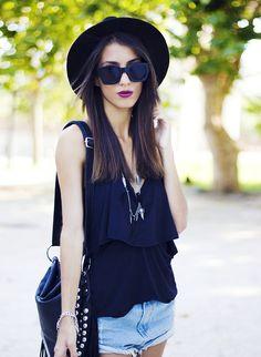 Mexiquer: Womens Retro Thick Bold Frame Wayfarer Sunglasses 8777