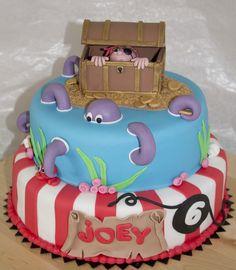 pirate cake, piratenstapel