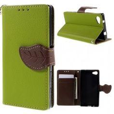 Sony Xperia Z5 Compact vihreä puhelinlompakko. Sony Xperia, Compact, Wallet, Purses, Diy Wallet, Purse