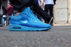 Nike Air Max 90 Hyperfuse: blue  shopping now on the website www.diybrands.co can get 10% discount with the original package and fast delivery provides the high quality replicas such as the LV ,Gucci ,Dior ,Nike,MK ,DG ,Burberry and so on
