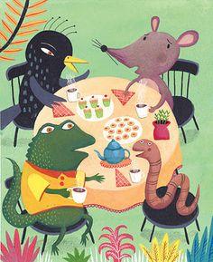 I could pin Mariana Ruiz Johnson Illustrations all day long!