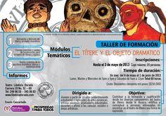 El títere y el objeto dramático http://www.portalescena.com/2013/05/02/el-t%C3%ADtere-y-el-objeto-dram%C3%A1tico