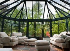 A Princeton Junction sunroom with a conservatory design