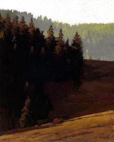 Near Wenatchee | Marc Bohne | oil on panel.