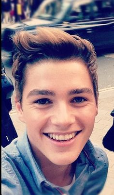 Jack harries  The dimples by your eyes when you :)