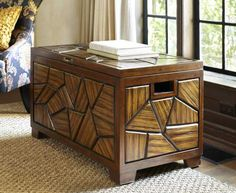 Pier 1 Sheyl Trunk will be the center of attention in any room