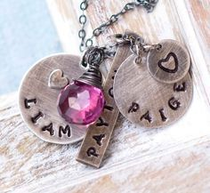 This one too!!! Mother Necklace Personalized Mother's Jewelry by jemmijewelry, $80.00