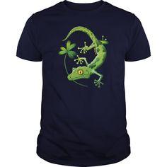 Saint Patricks Day Gecko Kids Shirts Kids Premium T Shirt