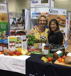 Anna and Frances from Mia's Kitchen at CHFA West April 2017