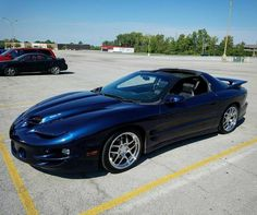Navy blue metallic Trans Am Pontiac Banshee, Pontiac Firebird Trans Am, My Dream Car, Dream Cars, Trans Am Ws6, Pontiac Cars, Pony Car, Sweet Cars, American Muscle Cars