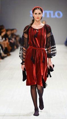 Fashion from Ukraine: Svitlo SS 2015 collection