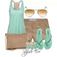 #Fashion #Summer #outfit. Perfect for Florida!