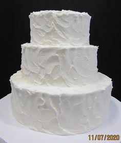 Rough iced three tier wedding cake Wedding Cake Two Tier, Traditional Wedding Cakes, Tasmania, Desserts, Food, Tailgate Desserts, Deserts, Essen, Postres