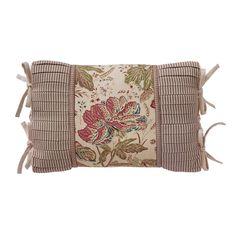 Croscill Camille Boudoir Decorative Throw Pillow 19X13