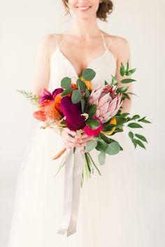 OOOOO.... tropical Bouquet! By Amberly of Wrennwood Design