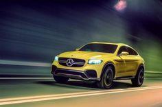 Mercedes Benz GLC Coupe Concept