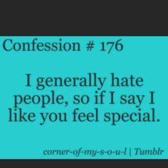 Describes me