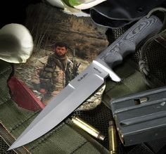 The Robert Horrigan fighting knife available at Elite Knives