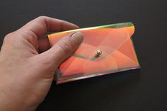 A Rainbow Business Card Case, iridescent! Label: Heydays on Dawanda*