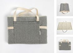 Reisebett ?Tweed Grey Folding Travel Bed: Remodelista