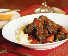 Beef Stew with Red Wine & Carrots Recipe
