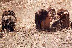 Poltergeist After shooting the pool scene, Jobeth Williams later found out she was swimming around with real skeletons. It was cheaper to buy them from a medical supply store than to make them. Poltergeist 1982, Jobeth Williams, Most Haunted, Haunted Places, Coincidences, Movie Theater, Back In The Day, Horror Movies, Comedy Movies