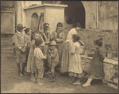 Alfred Stieglitz. 'The Last Joke - Bellagio' 1887