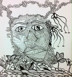 """África"" Illustration created by Fernanda Cordeiro"