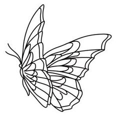 Embroidery butterfly pattern urban threads 29 ideas for 2019 Butterfly Embroidery, Butterfly Pattern, Embroidery Patterns, Mosaic Patterns, Rabe Tattoo, Mädchen Tattoo, Art Drawings Sketches, Tattoo Drawings, Broderie Simple